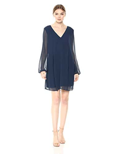 BCBGeneration Femme VDW67G91 Robe – Bleu – Taille L