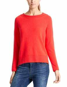 Marc Cain Additions Pullover Pull, Rot (Campari 278), 44 Femme