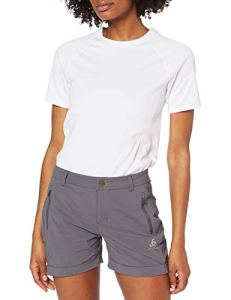 Odlo Shorts Conversion Femme, Graphite Grey, FR : XL (Taille Fabricant : 46)