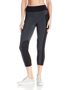 Blanc Noir Femme BLP19600 Leggings – gris – Taille M