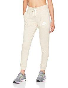 Nike W NSW Gym VNTG Pant Un Pantalon Femme, Oatmeal/Sail, FR : M (Taille Fabricant : M)