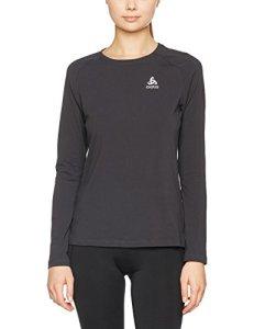 Odlo T-Shirt/Sweat-Shirt L/S Sillian pour Femme L Noir