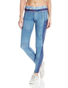 Seafolly Femme 60119 Leggings – Bleu – Taille XS