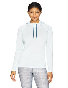 Under Armour Women's Mission Jacket, Halogen Blue (441)/Metallic Silver, X-Large