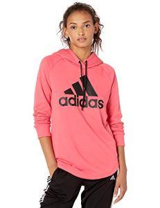 adidas Women's Badge of Sport Over Head Hoodie