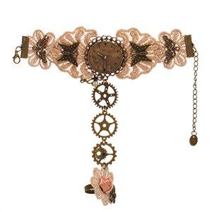 BLESSUME victorien steampunk poignet manchette bracelet un PCS (J)