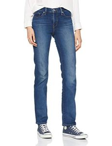 Levi's 314 Shaping Straight Jean Droit, Bleu (Shaker Maker 0054), W32/L34 (Taille Fabricant: 32 34) Femme