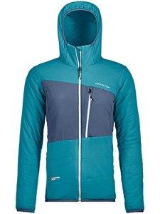 Ortovox Swisswool Zebru Jacket W Veste Femme, Aqua, S