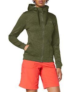 The North Face Kutum Full Zip Veste à Capuche Femme, Vert (Four Leaf Clover Heather), M