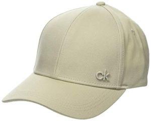 Calvin Klein CK Cap Casquette De Baseball, Gris (Cement 000), Unique (Taille Fabricant: OS) Femme