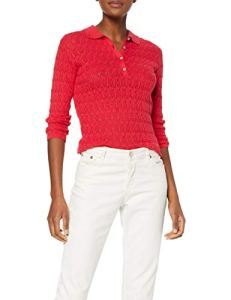 Springfield – 9.j.ap.t.polo Blue Pull Femme – Rouge – Small