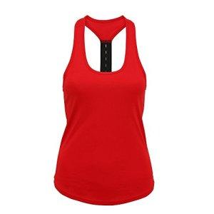 Tri Dri – Débardeur sport – Femme (M) (Rouge feu)