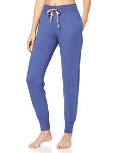 Triumph Mix & Match Trousers Jersey Bas de pyjama, Bleu, 46 Femme Femme Blau44 (Herstellergröße: 44) Femme Blau 44 (Herstellergröße: 44)