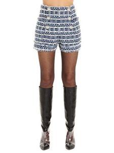 Balmain Luxury Fashion Femme SF25022V071SAN Bleu Shorts | Automne Hiver 19