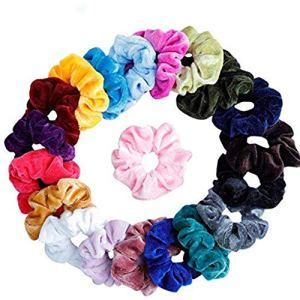 koperras 20/15/9 Pcs Femmes Ou Filles Bande De Cheveux Scrunchy Cravates à Cheveux Scrunchie Chouchous Accessoires Velours