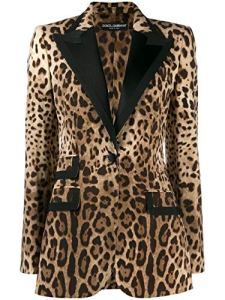 Luxury Fashion   Dolce E Gabbana Femme F29ACTFSBAVHY13M Beige Blazer   Automne Hiver 19
