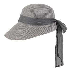 Chillouts Femme Chapeau de Paille Lafayette Gris, Caps/Mützen:XS