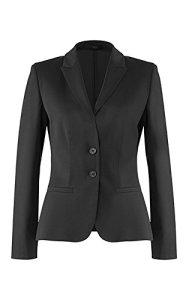 GREIFF Damen-Blazer Anzug-Jacke MODERN slim fit – Style 1444, Farbe: Anthrazit, Größe: 32