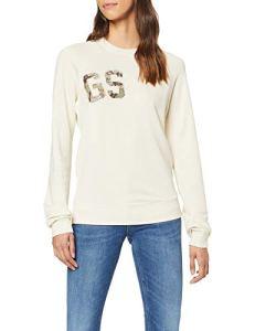 G-STAR RAW Graphic 9 Xzula Sweat-Shirt Femme, Beige (Chalk 127), Large