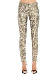 JBrand Luxury Fashion Femme L8001IJ23008 Or Pantalon | Automne_Hiver