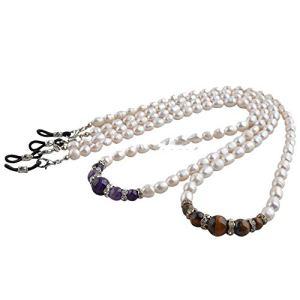 Sourcingmap Lot de 10 cordons de lunettes en perles véritables – – Taille Unique