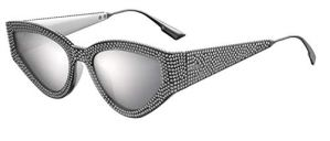 Dior CATSTYLE DIOR 1S Grey Crystal/silver (KB7/0T) sunglasses
