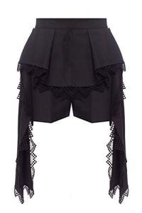 Alexander McQueen Luxury Fashion Femme 620243QEABL1000 Noir Shorts   Printemps_Été