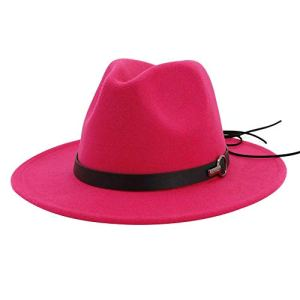 ASDWA Chapeau De Soleil Femme,Vintage Ladies Sun Hat Rose Red Adjustable Wide-Brimmed Beach HatEaster Gift for Men Women Summer Beach Cap