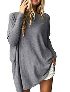 Beaii – Pull – Femme – Gris – Small