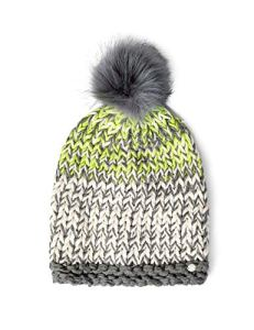 Cecil 570933 Bonnet, Multicolore (Neon Lemon 31601), Unique (Taille Fabricant: A) Femme