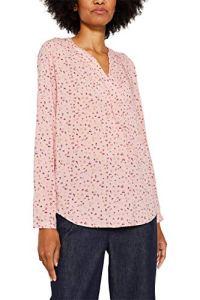 Esprit 119EE1F001 Blouse, Rose (Blush 665), 40 Femme