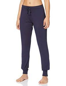 Esprit Jayla Long Pant Bas De Pyjama, Bleu (Navy 400), 36 (Taille Fabricant: 34) Femme