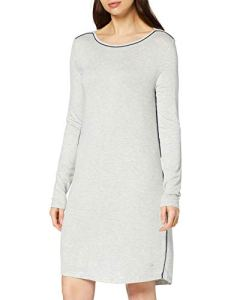 Esprit Jayla Nightshirt Chemise De Nuit, Gris (Light Grey 040), 48 (Taille Fabricant: 46) Femme