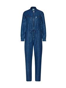 Lee Jumpsuit Salopette, Bleu (Washed Blue LR), Small Femme