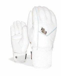 Level Gant de ski gants hiver Bliss nexy blanc primaloft cuir – blanc, S