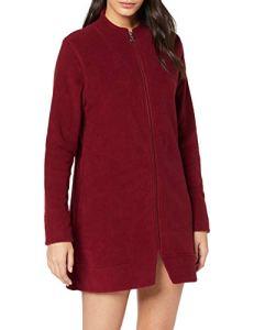 Lovable Bordeaux Dressing Gown Robe De Chambre, Rouge 063, Large (Taille Fabricant: L/XL) Femme