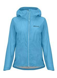 Marmot Wm's Bantamweight Jacket Imperméable, Veste de Pluie Femme, Hardshell, Coupe Vent, Respirant, Enamel Blue, FR : S (Taille Fabricant : S)