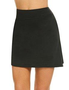 MAXMODA Jupe-Short de Golf Courte Skirt Moulant Elastiquée pour Sport Femme