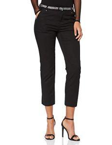 Morgan 191-PIMS.P Pantalon 7/8eme Femme, Noir (Noir), W34 (Taille Fabricant:T34)