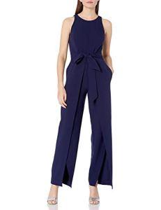Nine West Combinaison avec Pantalon Flyaway pour Femme – Bleu – 46