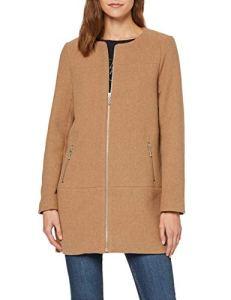 Only Onlkatharina Rianna Wool Coat CC OTW Manteau, Beige (Camel Detail:Melange), XS Femme
