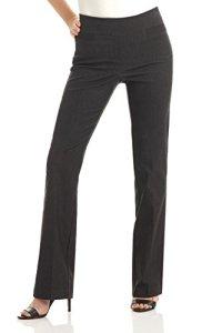 Rekucci Pantalon Ultra Confort pour Femme, Coupe Semi-évasée