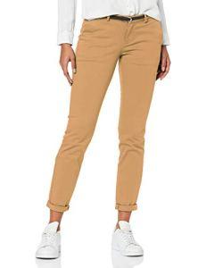 Scotch & Soda Maison Slim Fit Chino Pantalon, (Sand 37), W27/L32 (Taille Fabricant: 27/32) Femme