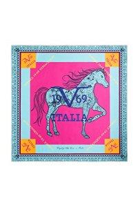 V1969 – Fichu – Femme bleu rose taille unique