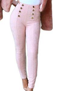 VaeJY – Legging – Femme – Rose – Small