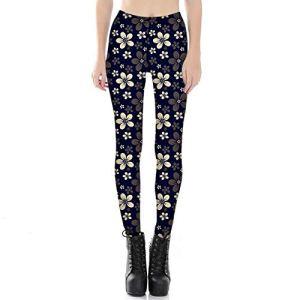 WUANNI Legging De SurvêTement pour Yoga Fitness Augmenter,Pantalon de survêtement Skinny imprimé numérique pour Femme-G_M