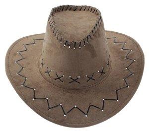 YiyiLai Chapeau Western Femme Chapeaux Fedora Cow-Boy Country Pêche Mode Brun