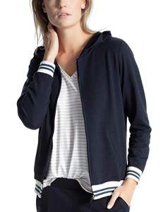 CALIDA Favourites Trend 1 Haut De Pyjama, Bleu, X-Small (Taille Fabricant:) Femme