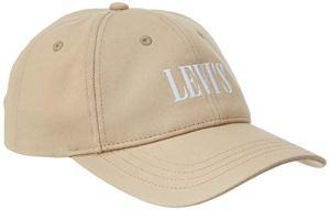 Levi's Levis Footwear and Accessories Serif Logo Snapback W Casquette Souple, Beige (Écru 21), Unique (Taille Fabricant:Un) Femme
