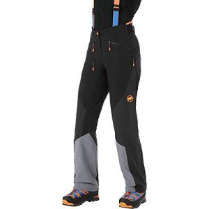 Mammut Pantalon Eisfeld Guide So Mujer Femme, Noir, 40 Largo